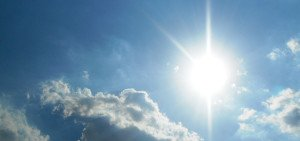 Foto di un cielo di sole a Milano con Guide Turistiche Milano