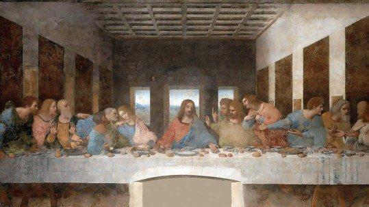 Foto dell'Ultima Cena di Leonardo, il Cenacolo Vinciano